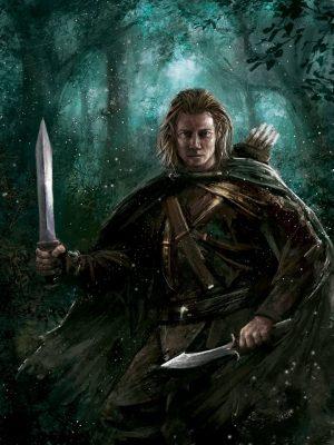 eli the elven ranger going into battle mae novels