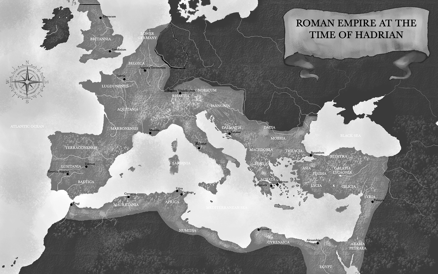 Roman-Empire-at-the-Time-of-Hadrian