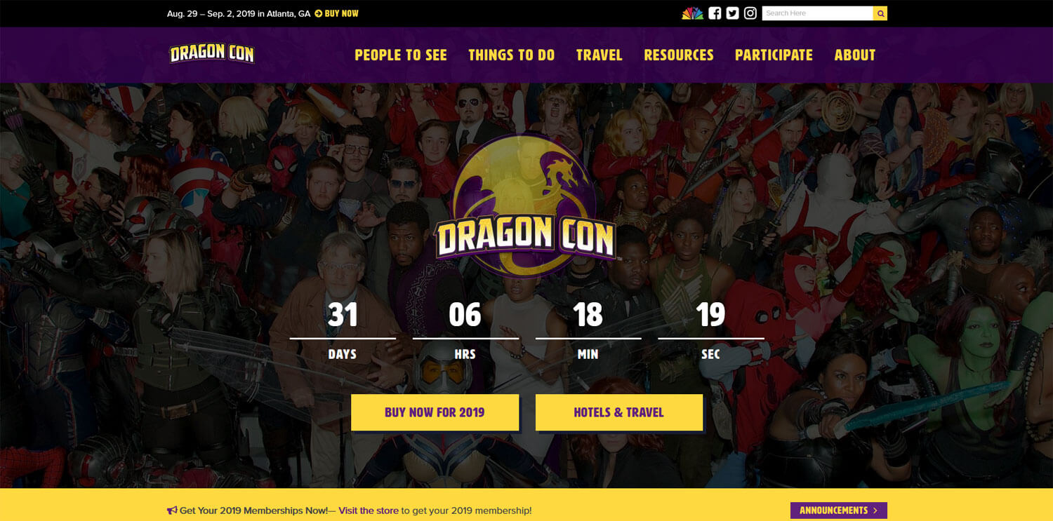 dragon-con-website